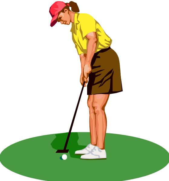 Ladies Golf Clip Art Girl Golf Clip Art