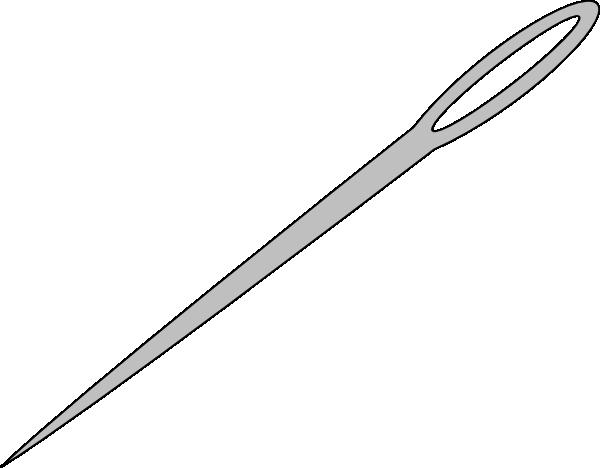 Needle Clip Art Silver Needle Clip Art