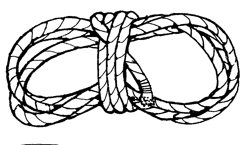 Rope Clipart Black And White
