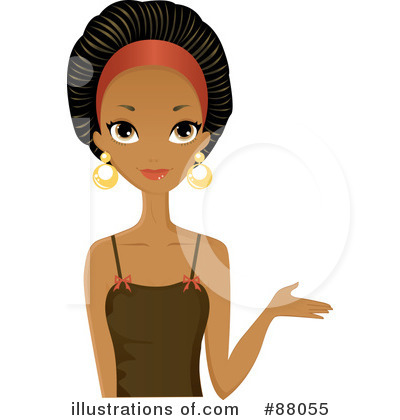 Royalty Free  Rf  Black Woman Clipart Illustration By Melisende Vector