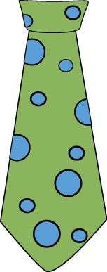 Tie Clipart Dot Tie Clip Art Green