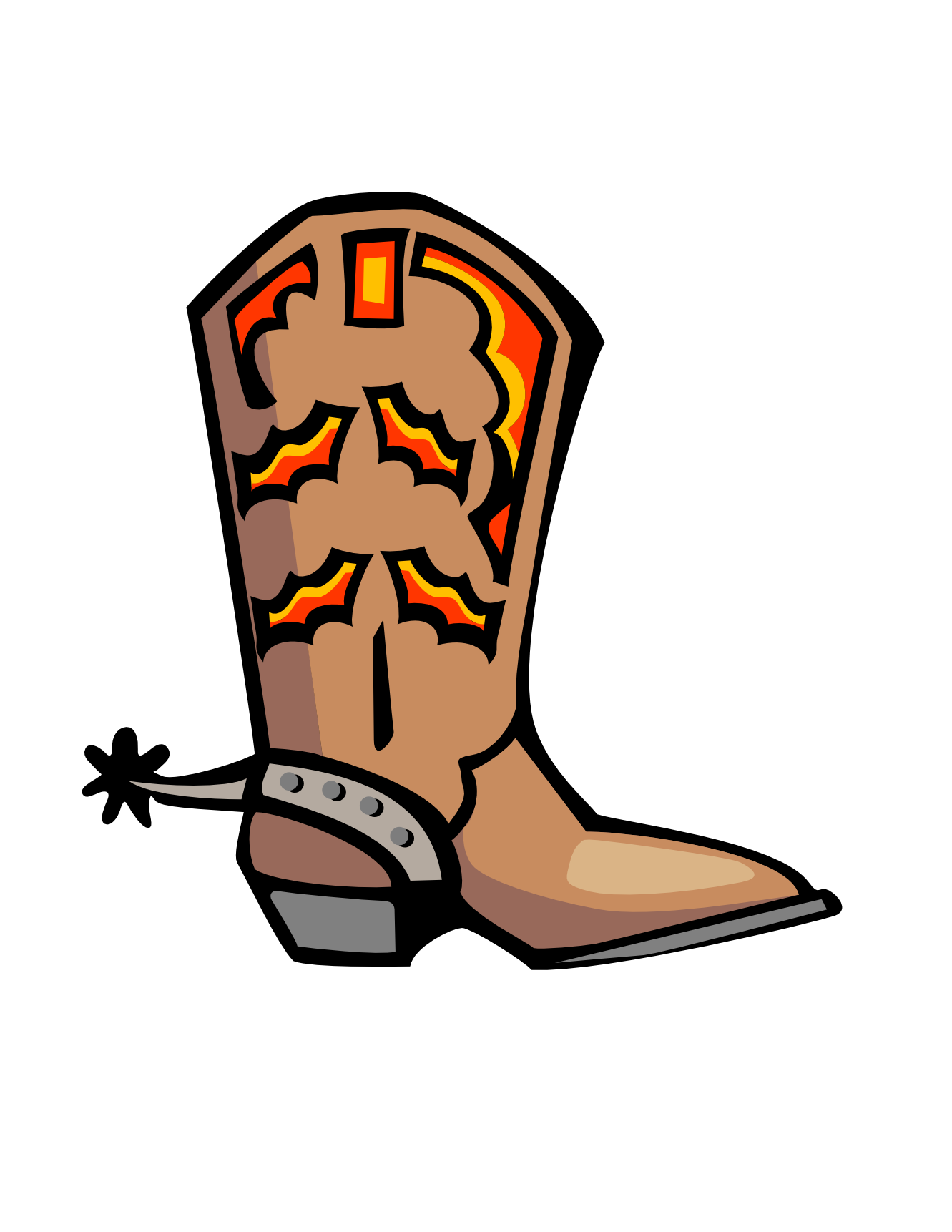 10 Cowboy Boot Clip Art Free Cliparts That You Can Download To You