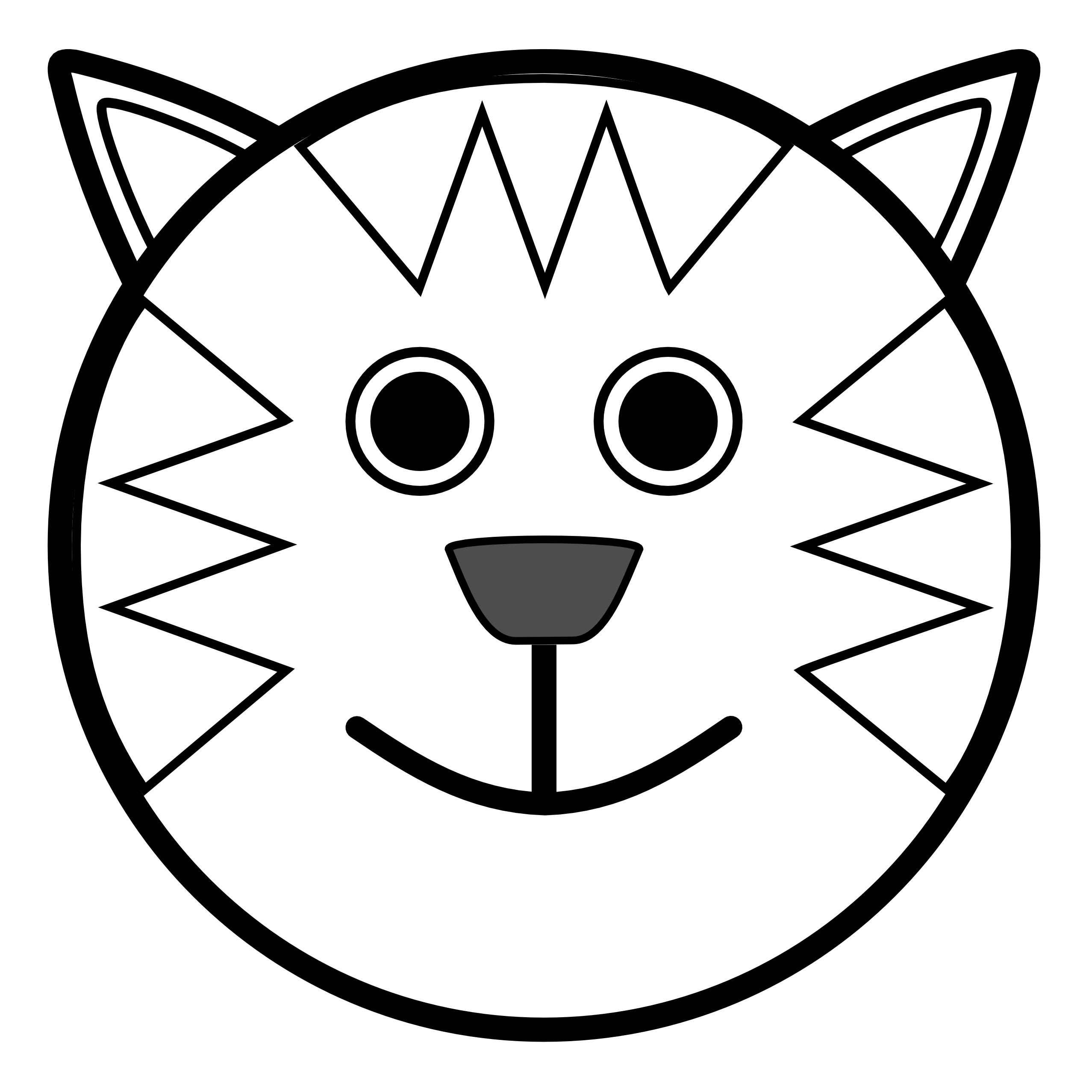 Animal Black And White Clipart - Clipart Kid