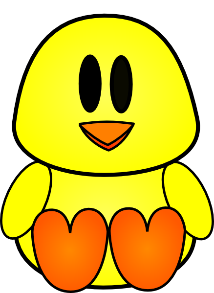 Baby Chick Clip Art At Clker Com   Vector Clip Art Online Royalty