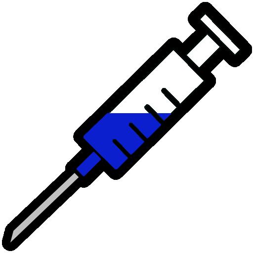 Clip Art Syringe Clipart syringe needle clipart kid blue filled image ipharmd net