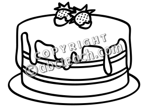 Cake 20clipart Black And White Cake Clip Art Y8pecsub Png