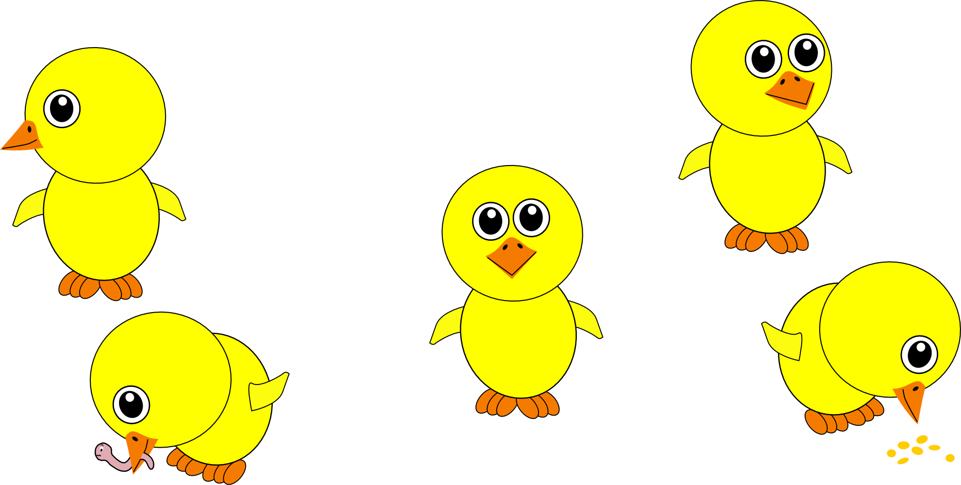 Cartoon Chick Clip Art