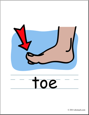 toe clipart clipart kid toe clipart clipart kid