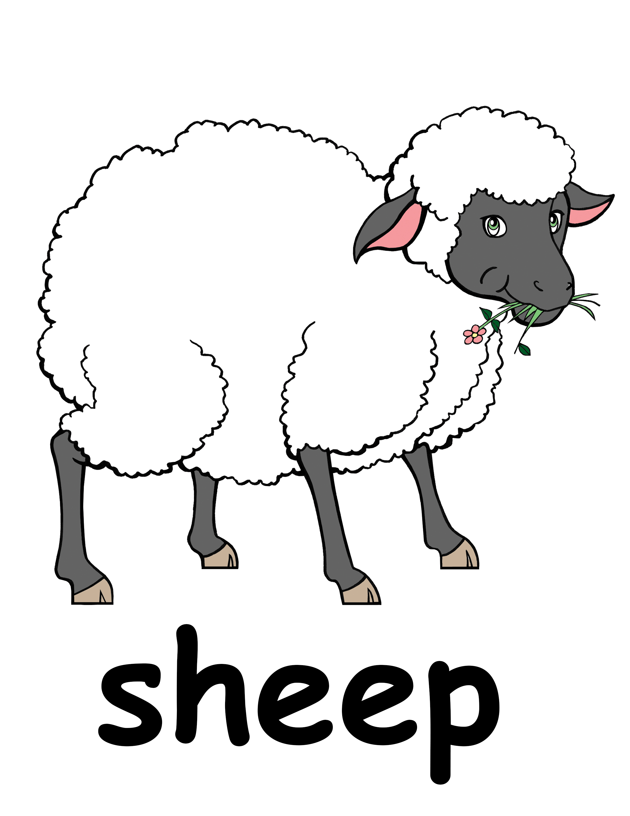Clip Art Herd Of Sheep   Clipart Panda   Free Clipart Images