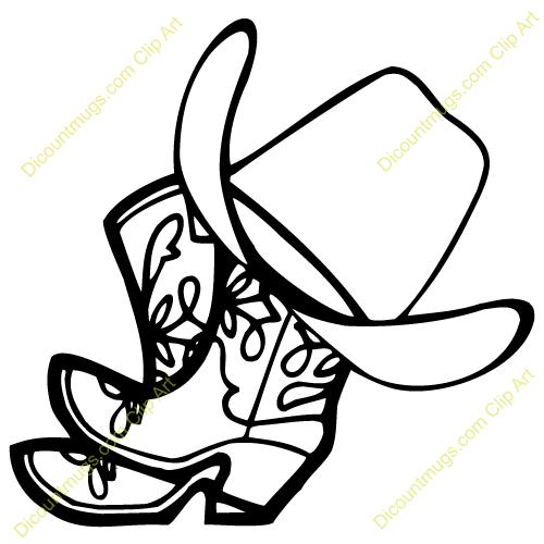 Cowboy Shoes Clipart - Clipart Kid