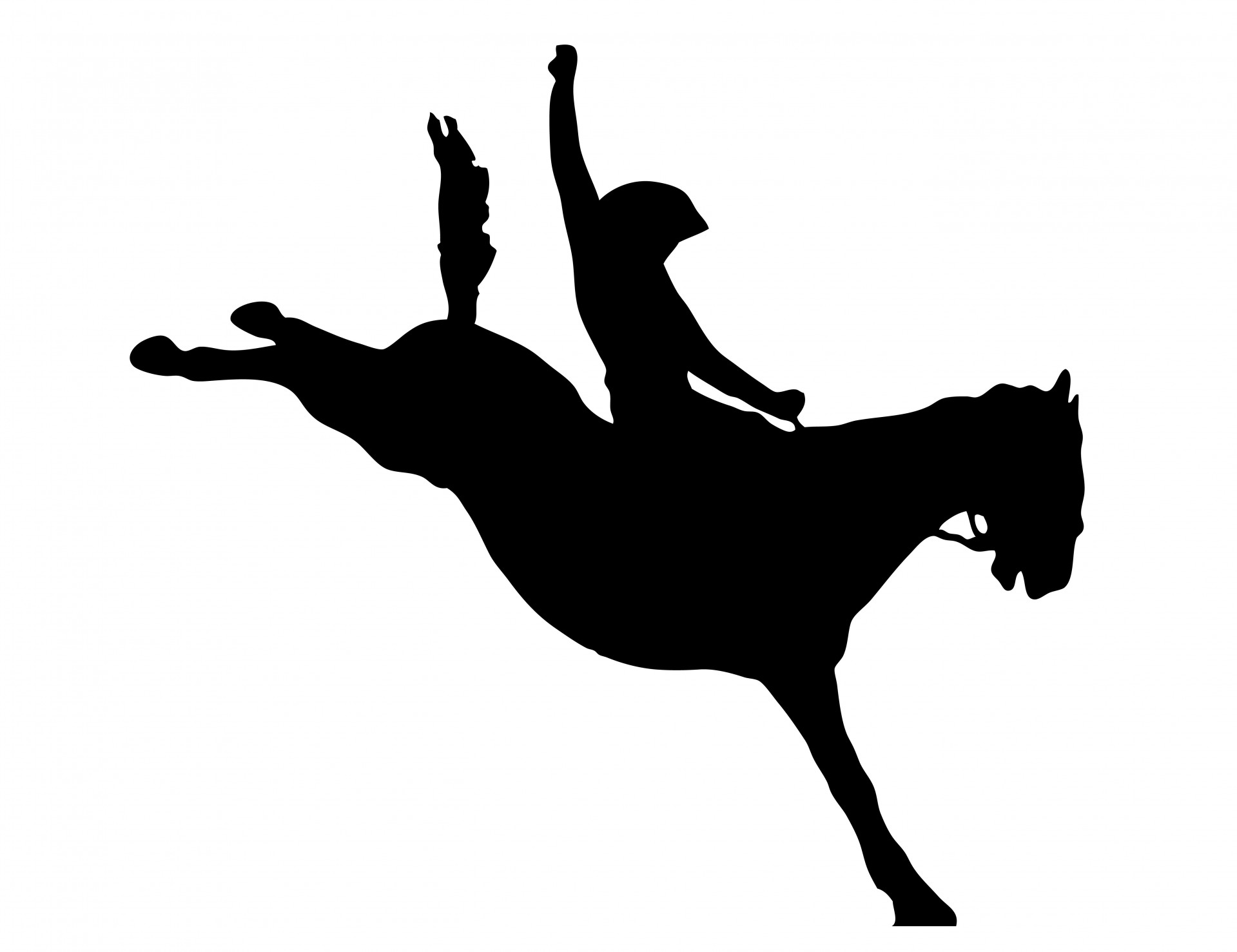 rodeo silhouette clipart clipart suggest Rodeo Cowboy Clip Art Rodeo Cowboy Clip Art
