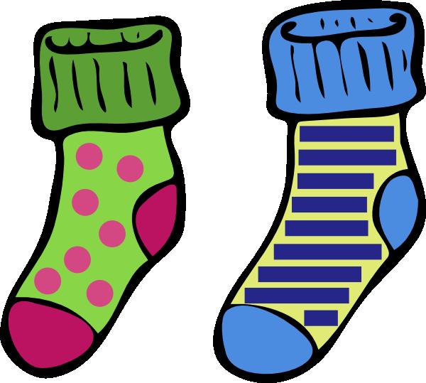 Crazy Socks Cartoon Clipart   Free Clipart