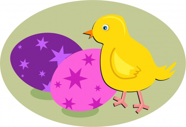 Easter Chick Clipart By Dawn Hudson