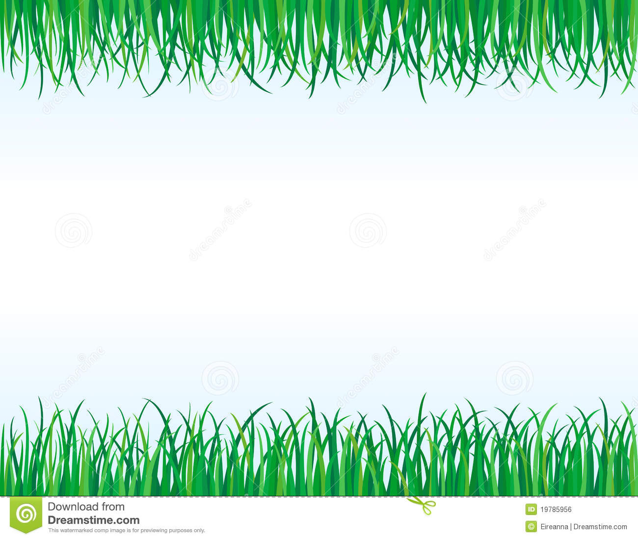 Clipart grass border the image kid has it for Best grasses for borders