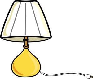 Floor Lamp Clipart Black And White   Clipart Panda   Free Clipart