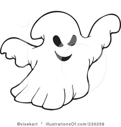 Ghost Clipart 9 400x420