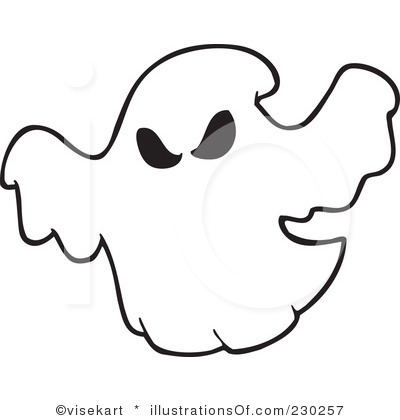 Ghost Clipart Illustration