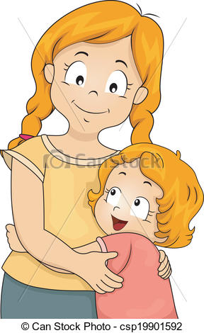 Clip Art Sister Clipart sister love clipart kid go back gallery for sisters hugging clipart