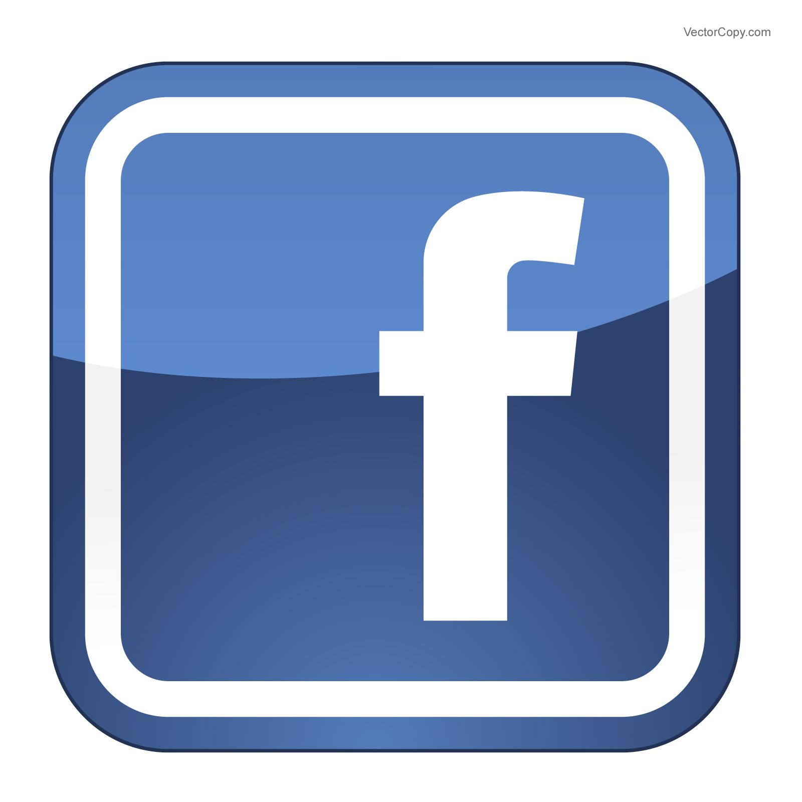 Black Facebook Icon Clipart Clipart Suggest