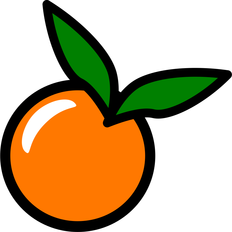 Orange Icon By Chovynz   An Orange Icon  Minimalist  Inspired By Http