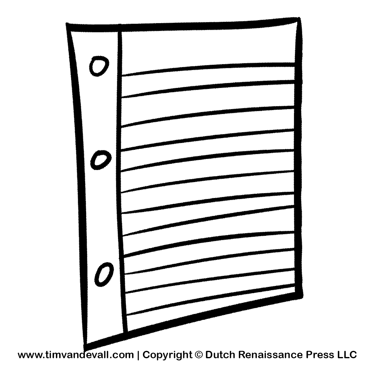 Paper Black And White Clipart - Clipart Suggest