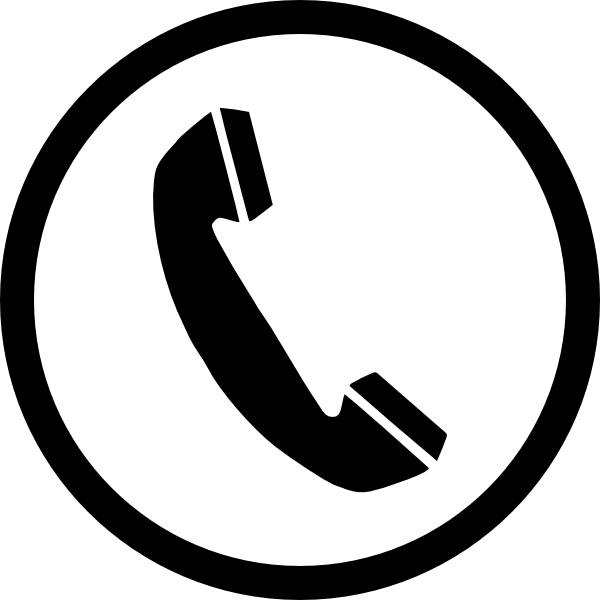 Phone Sign Clip Art At Clker Com   Vector Clip Art Online Royalty