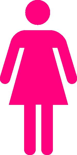 Pink Female Clip Art At Clker Com   Vector Clip Art Online Royalty