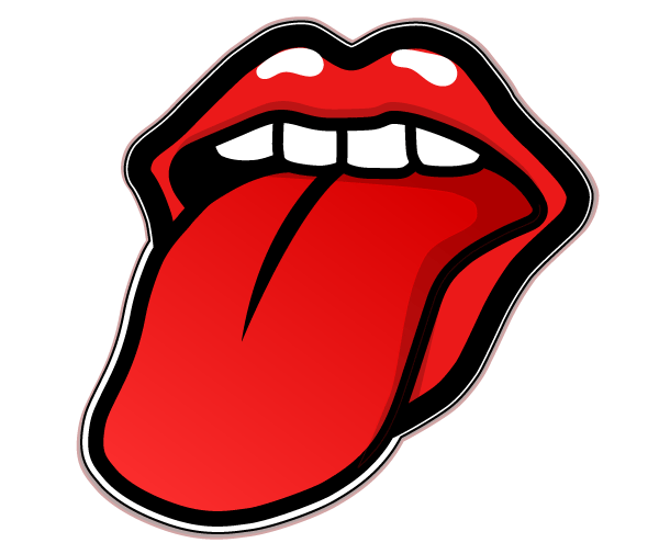 Lips And Tongue Clipart - Clipart Suggest
