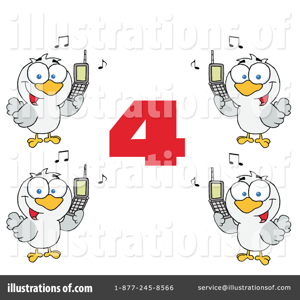 Royalty Free  Rf  Twelve Days Of Christmas Clipart Illustration By Hit