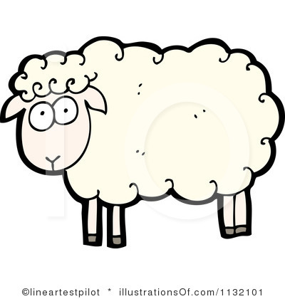 Sheep Clipart Black And White   Clipart Panda   Free Clipart Images
