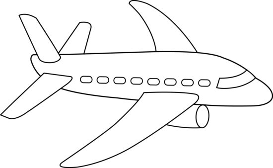 Clip Art Airplane Clipart Black And White airplane black and white clipart kid my car gears