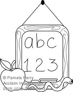 chalk coloring pages - photo#25