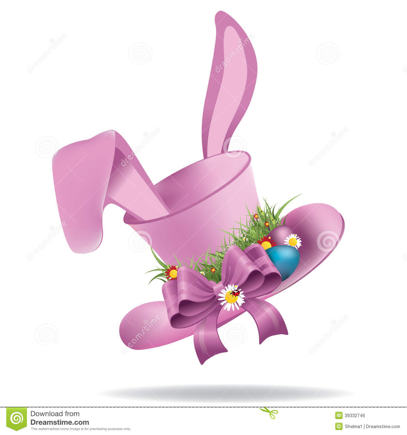 clipart easter bonnets - photo #8