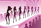 Fashion Show Stock Illustrations  2640 Fashion Show Clip Art Images