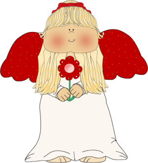 Adorable Angel Clipart - Clipart Kid