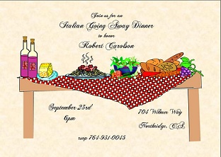 Going Away Farewell Party Invitations