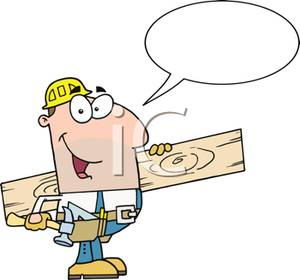 Hardware Cartoon 6148  A Carpenter Flipping Open The Swiss Army Tool
