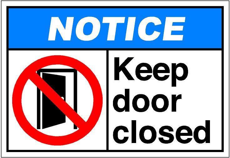 Shut The Door Clipart Clipart Suggest