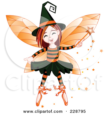 Royalty Free  Rf  Halloween Fairy Clipart Illustrations Vector
