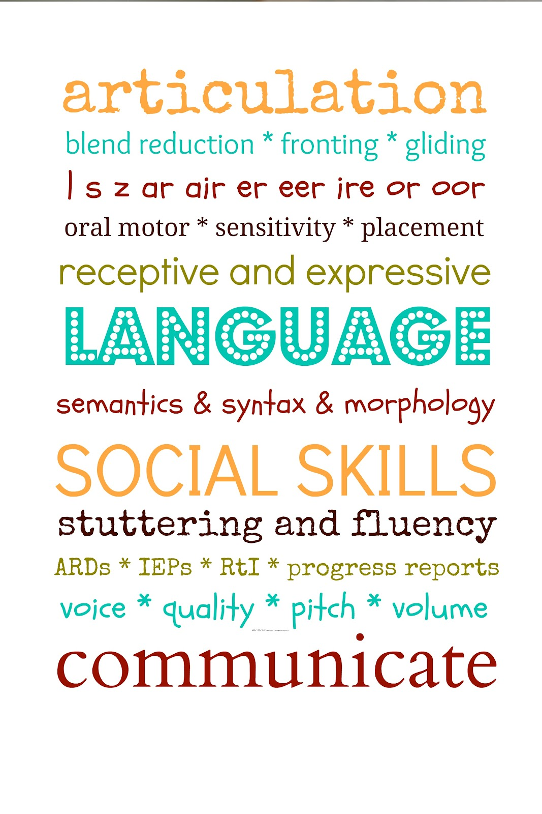 speech language pathology coursework Return to: college of arts and sciences the department offers the bachelor of  arts degree with a major in speech-language pathology/audiology.