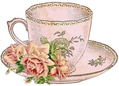 Tea Cup And Roses   Tea Time Fun   Pinterest