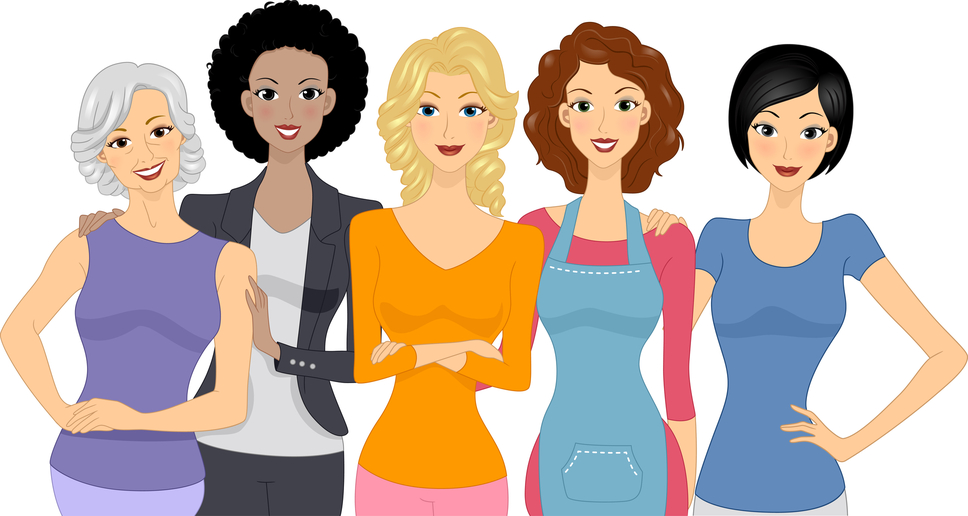 Women Helping Women Clipart - Clipart Kid