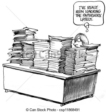Piles Of Work Clipart - Clipart Suggest