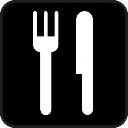 Fork And Spoon Clip Art Free Vector In Open Office Drawing Svg    Svg