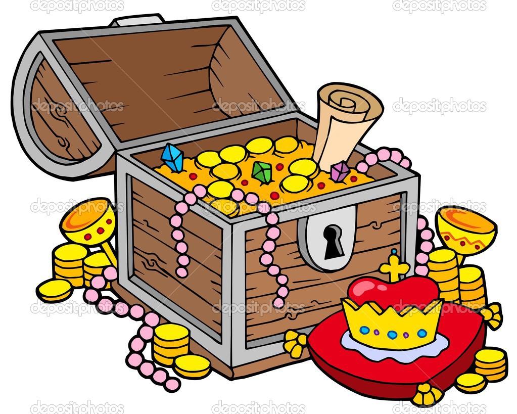 Buried Treasure Clipart - Clipart Kid