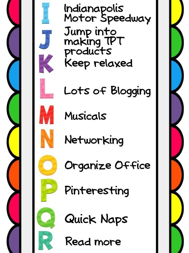 Summer Bucket List Clipart - Clipart Suggest