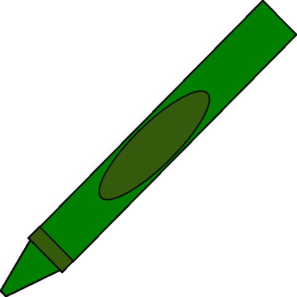 Yellow crayon clipart