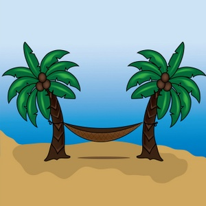 Tropical Island Clip Art Images Tropical Island Stock Photos   Clipart