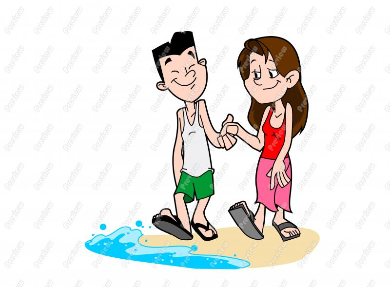 Cartoon Characters Holding Hands : Couple holding hands clipart suggest