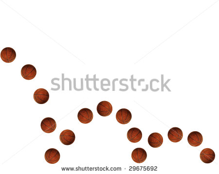 Bouncing Basketball Stock Photo 29675692   Shutterstock
